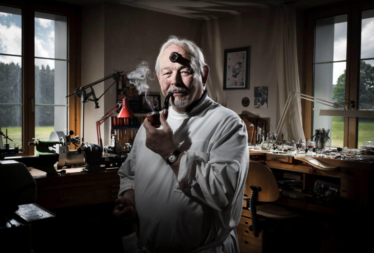 Master watchmaker philippe dufour